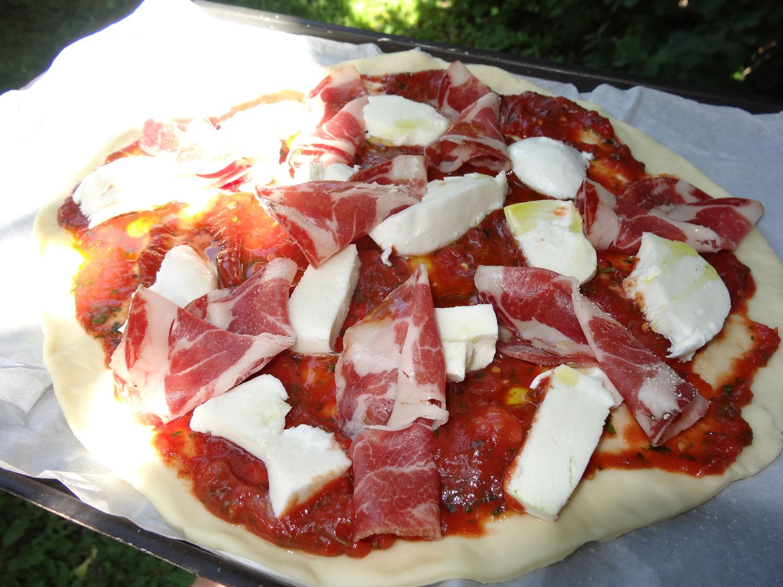 une pizza sous le soleil exactement