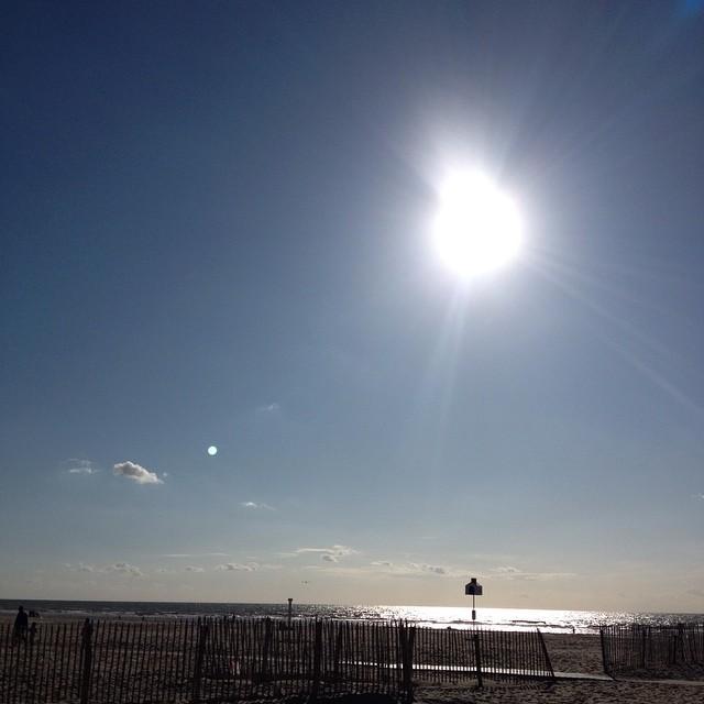 Le Touquet plage, grand soleil: il fallait y croire !