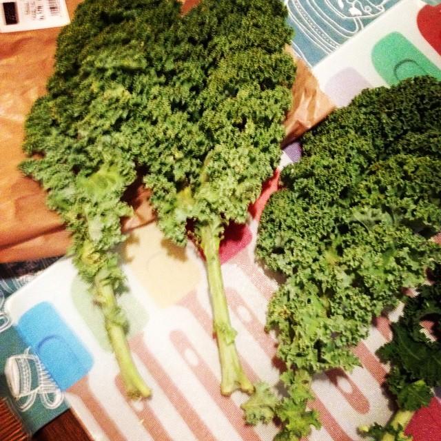 J'ai testé et approuvé le célèbre choux ancien, star aux états-unis: le Kale (prononcez kayle)