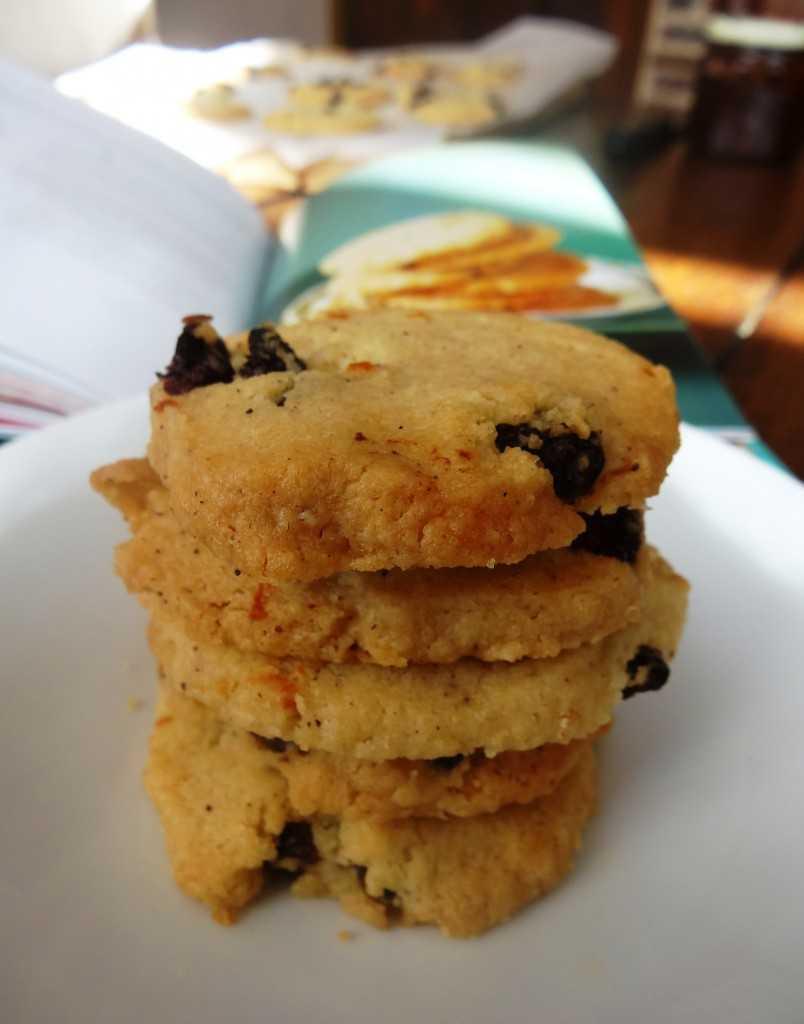 tea cookie épices et raisins