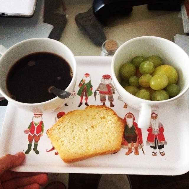 petit-déjeuner de champion !