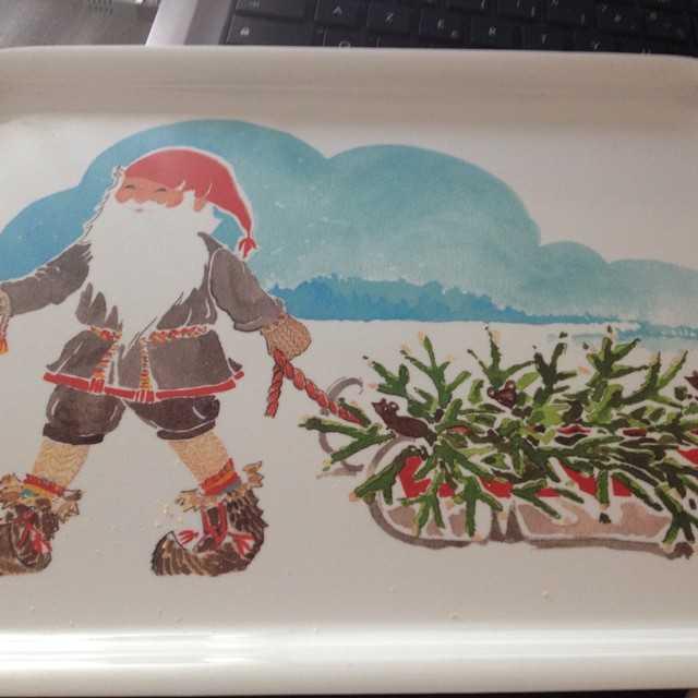 Chez ikéa ils sont prêts pour Noël !