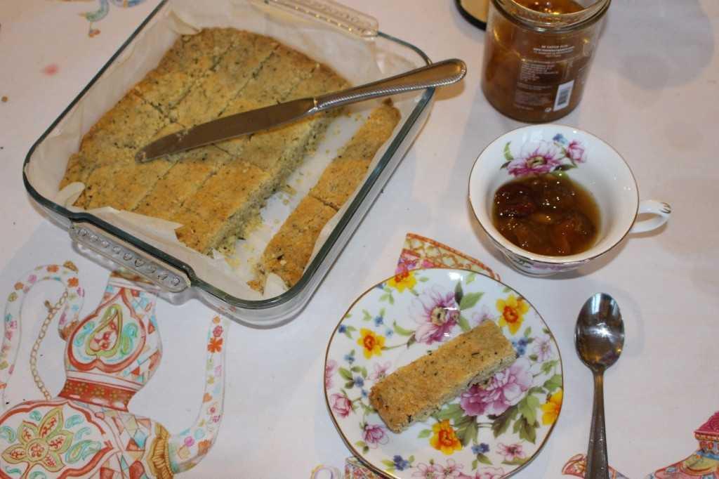shortbread au thé